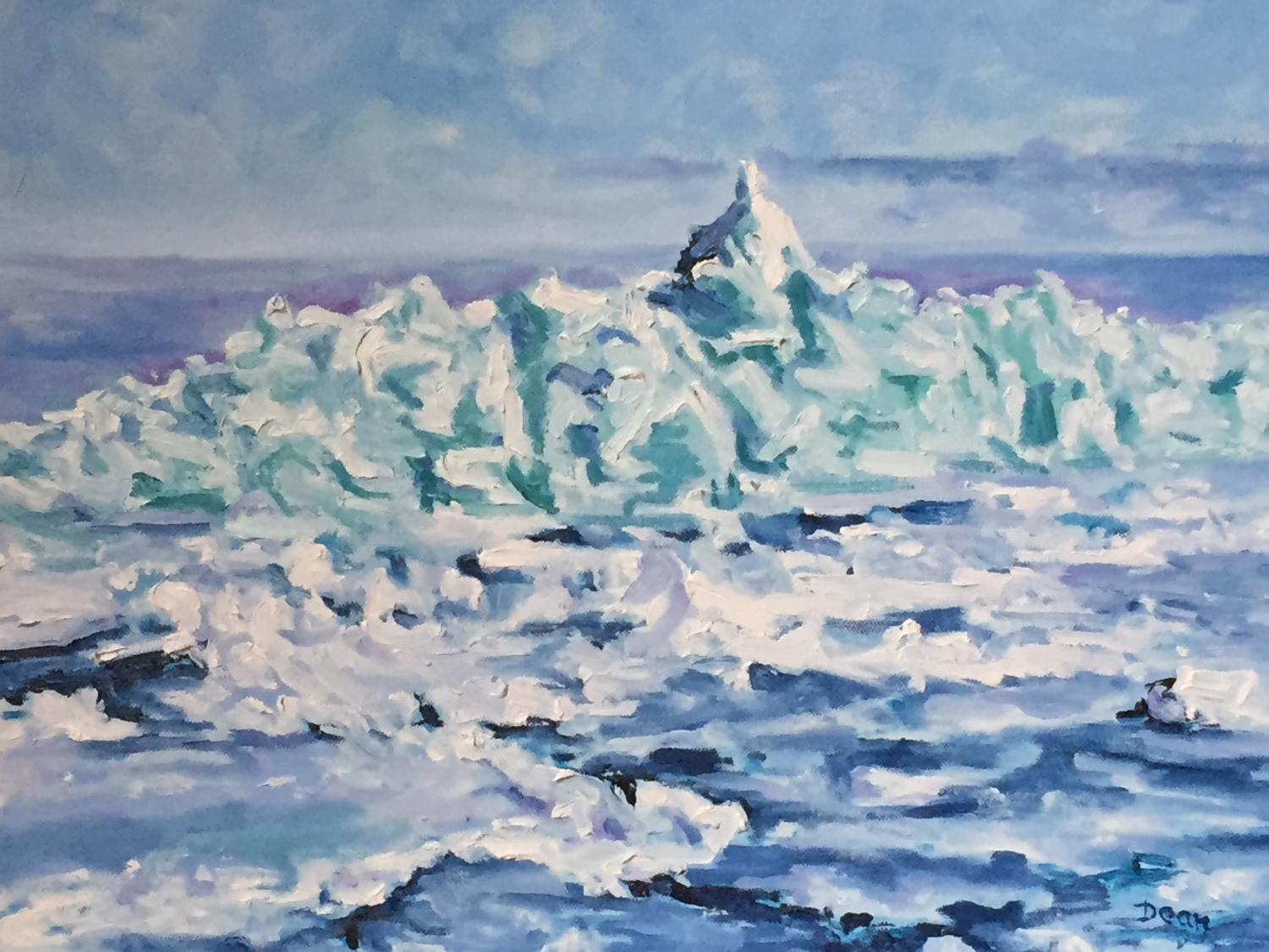 """Meaford Blue Ice"" SOLD"