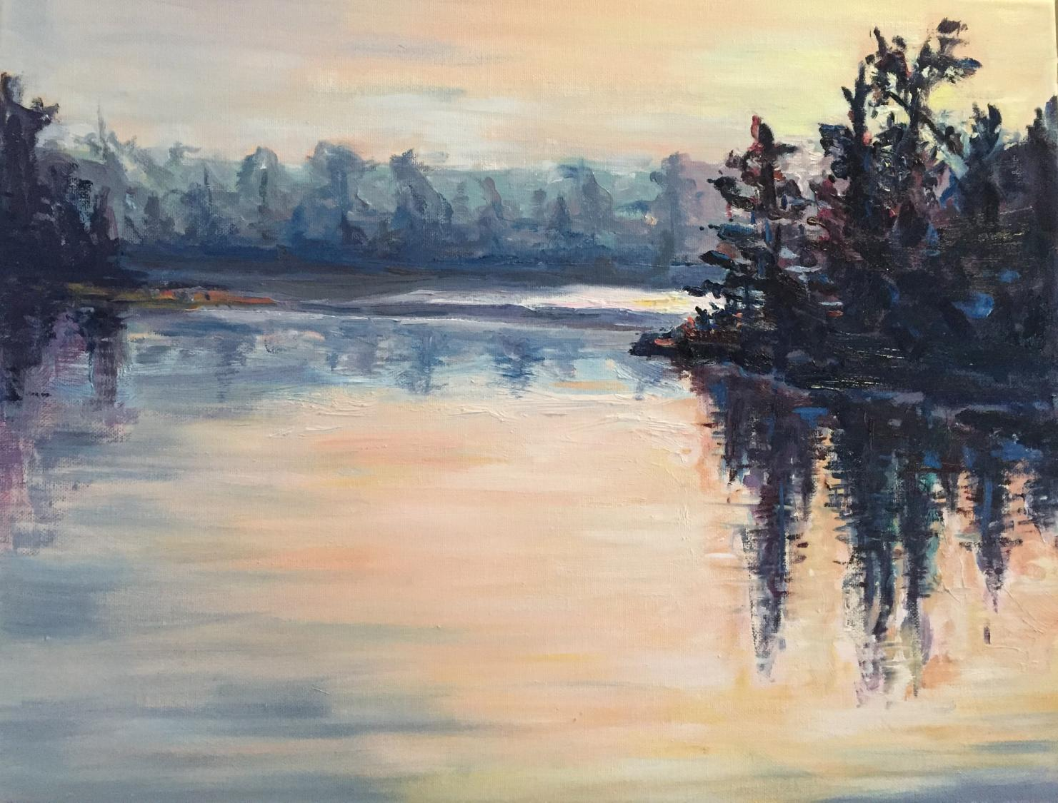 """Manitoulin Blush"" SOLD"