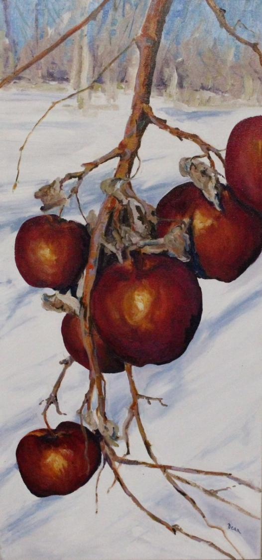 """Winter Apples: Almond's Orchard"" SOLD"