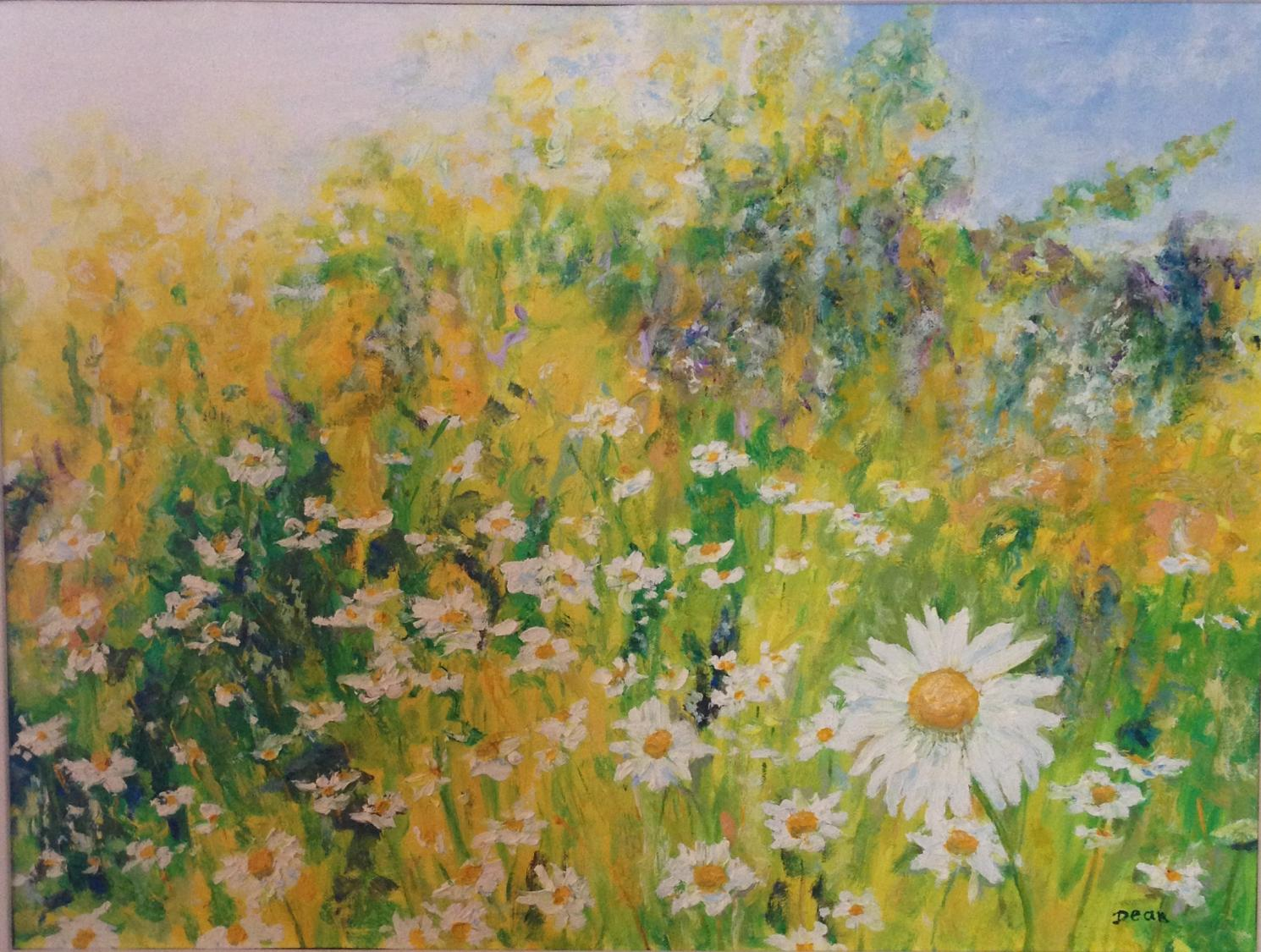 """Field of Daisies"" SOLD"