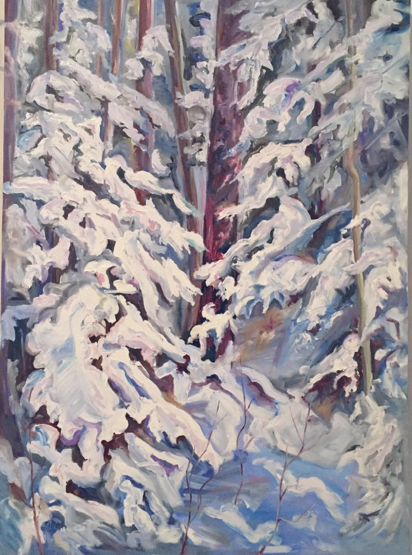 """Winter Bower: Memorial Park"" SOLD"